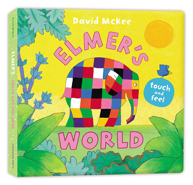 Elmer's Touch and Feel World - Jacket