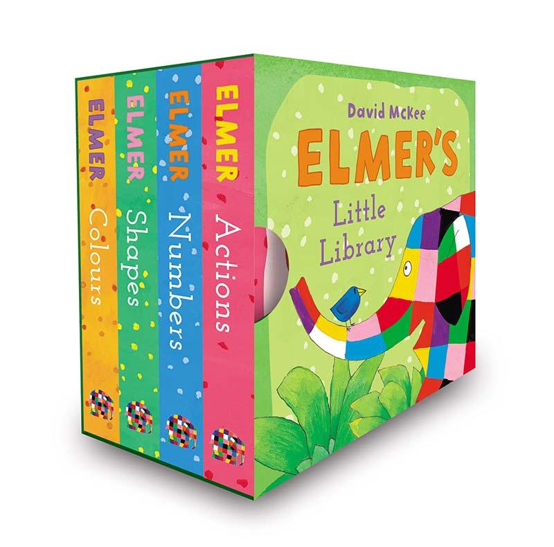 Elmer's Little Library - Jacket