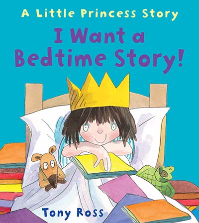 I Want a Bedtime Story! - Jacket