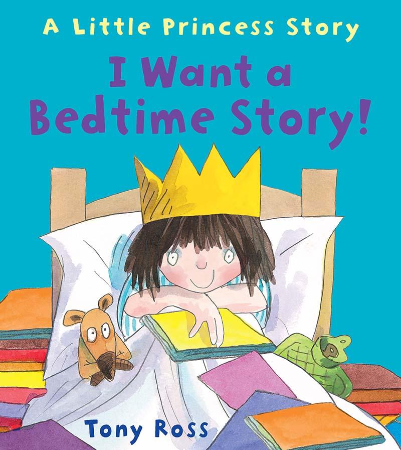 I Want a Bedtime Story! - Jacket