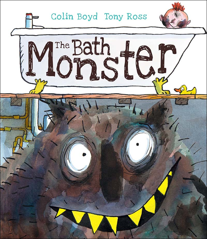 The Bath Monster - Jacket