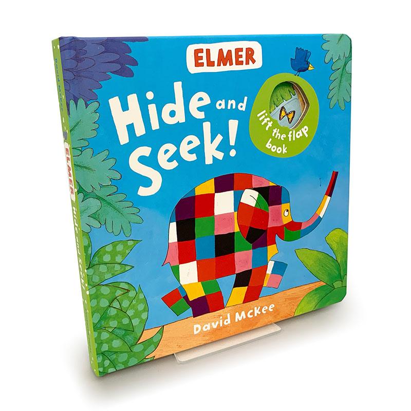 Elmer: Hide and Seek! - Jacket