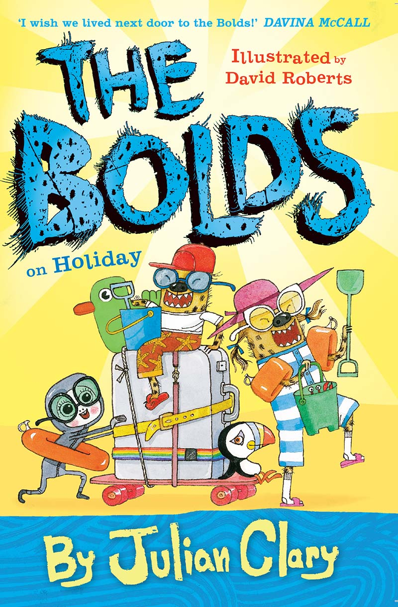 The Bolds on Holiday - Jacket