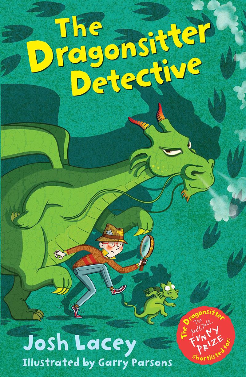The Dragonsitter Detective - Jacket