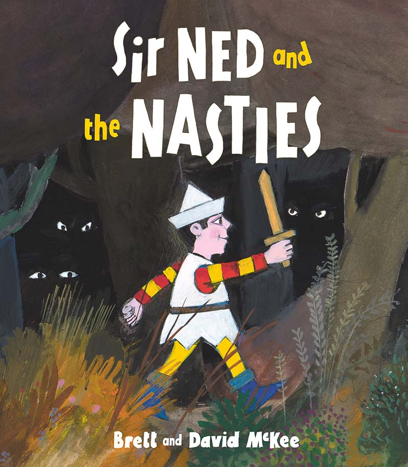 Sir Ned and the Nasties - Jacket