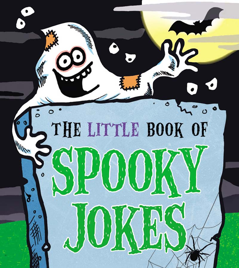 The Little Book of Spooky Jokes - Jacket