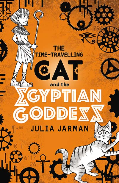 The Time-Travelling Cat and the Egyptian Goddess - Jacket