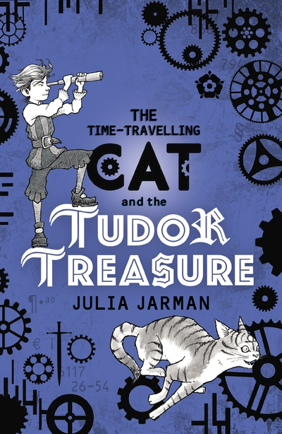 The Time-Travelling Cat and the Tudor Treasure - Jacket
