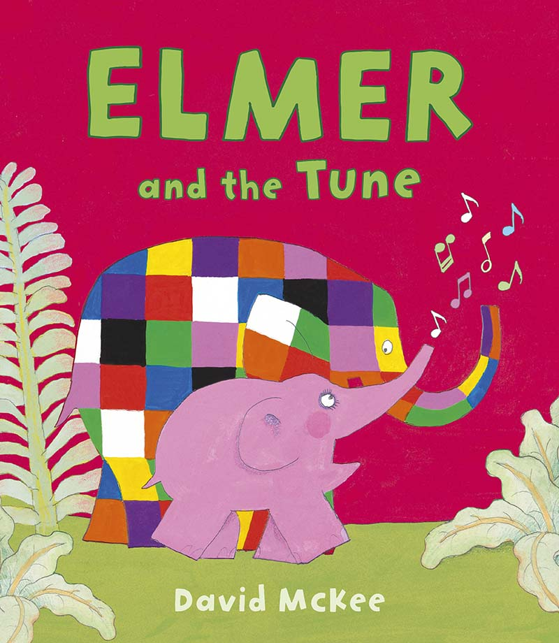 Elmer and the Tune - Jacket