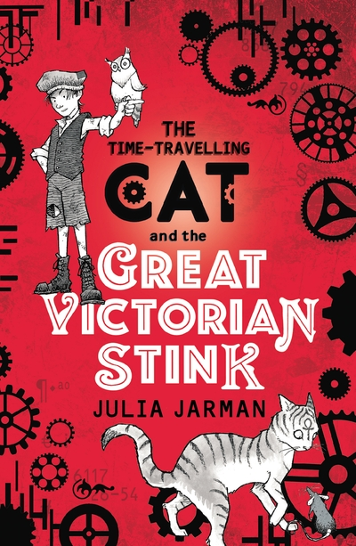 Time-Travelling Cat and the Great Victorian Stink - Jacket