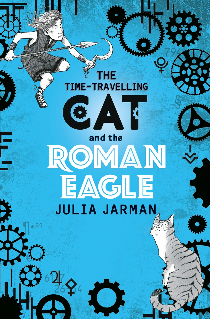 The Time-Travelling Cat and the Roman Eagle - Jacket