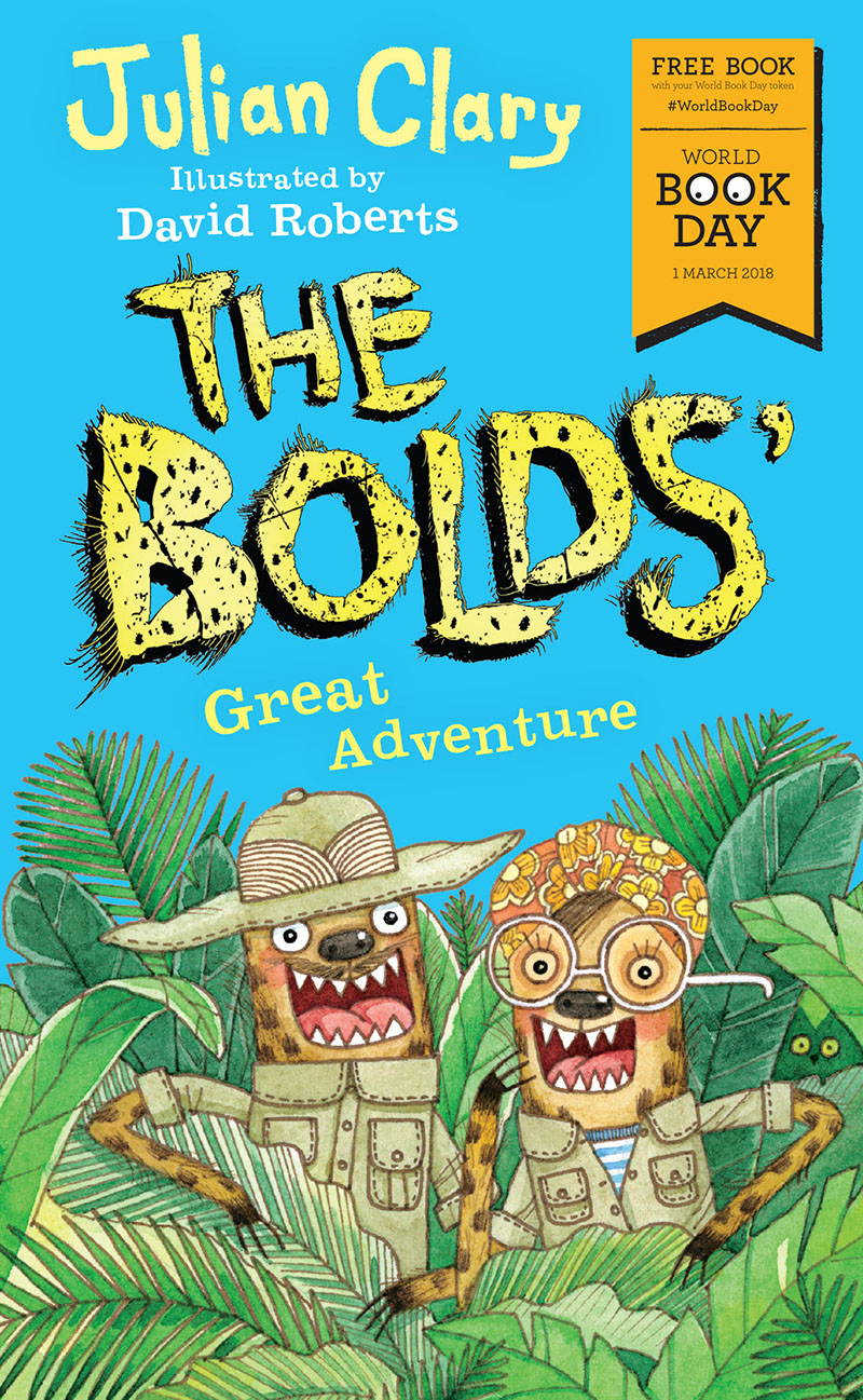 The Bolds' Great Adventure - Jacket