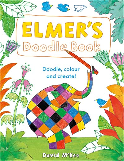 Elmer's Doodle Book - Jacket