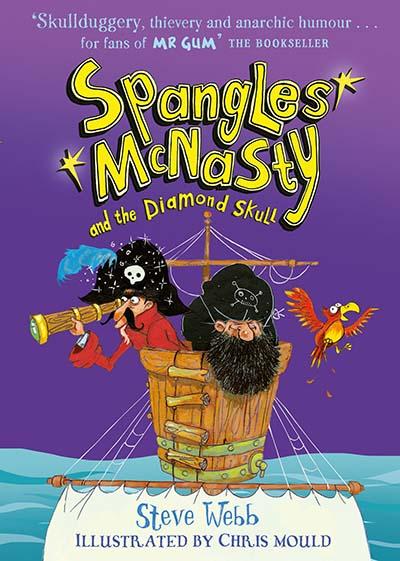 Spangles McNasty and the Diamond Skull - Jacket