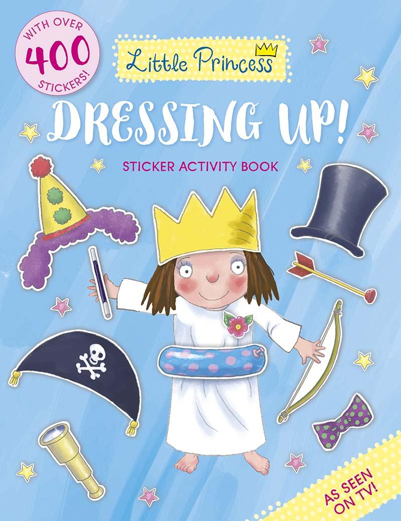 Little Princess Dressing Up! Sticker Activity Book - Jacket
