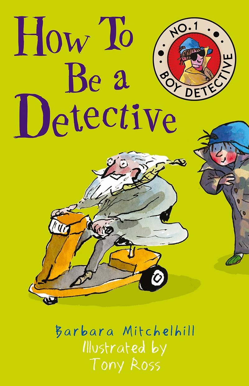 How To Be a Detective - Jacket