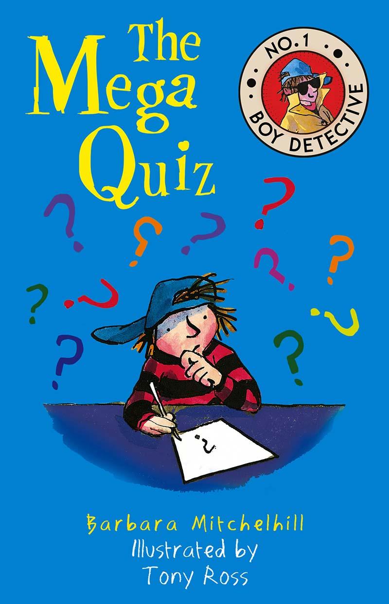 The Mega Quiz - Jacket