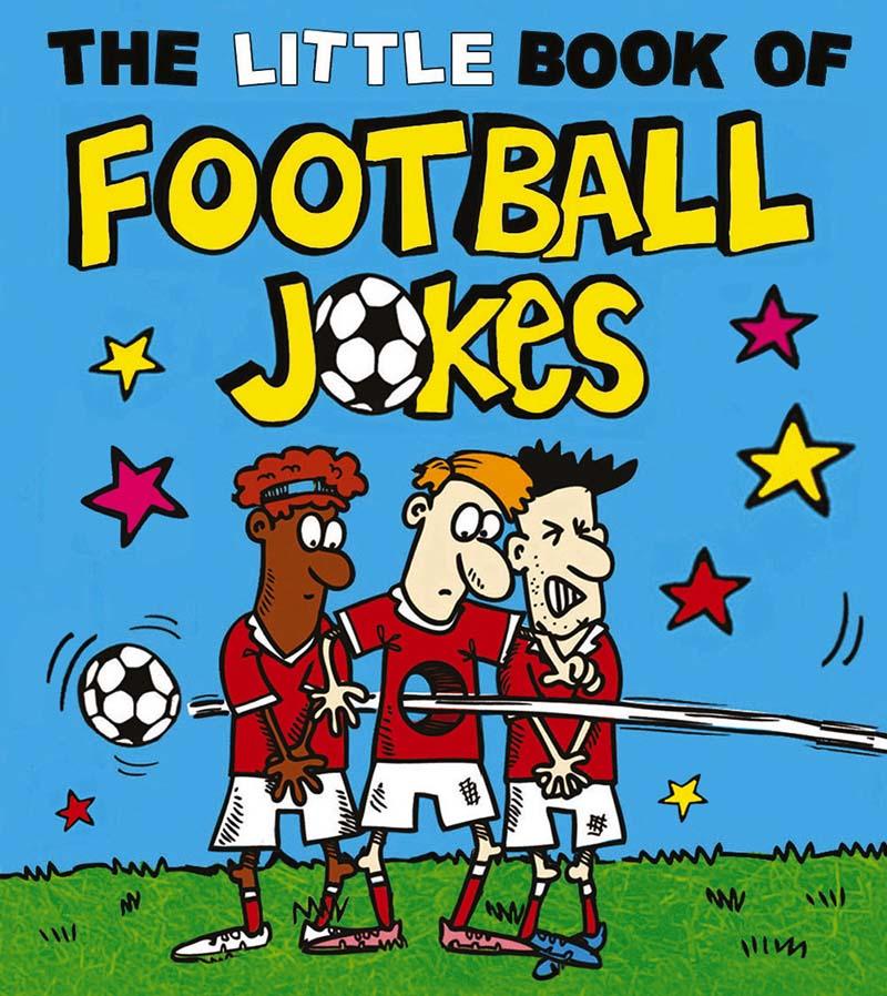 The Little Book of Football Jokes - Jacket
