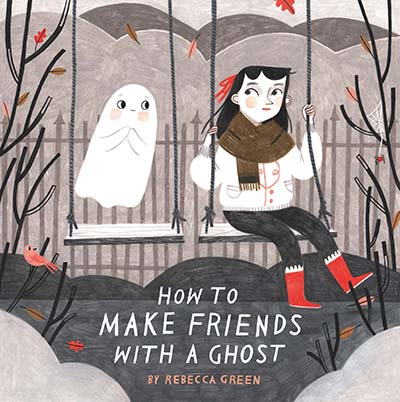 How to Make Friends With a Ghost - Jacket