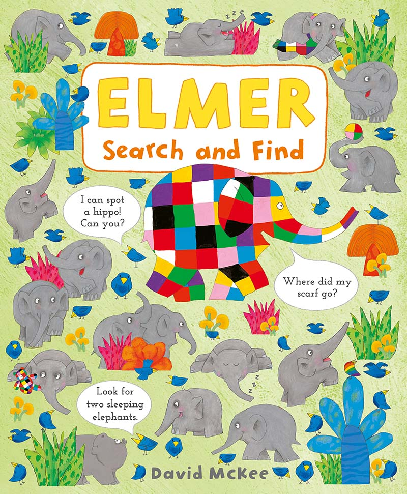 Elmer Search and Find - Jacket