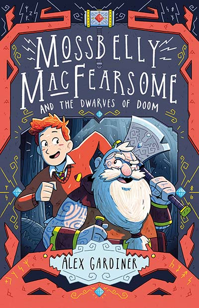 Mossbelly MacFearsome and the Dwarves of Doom - Jacket