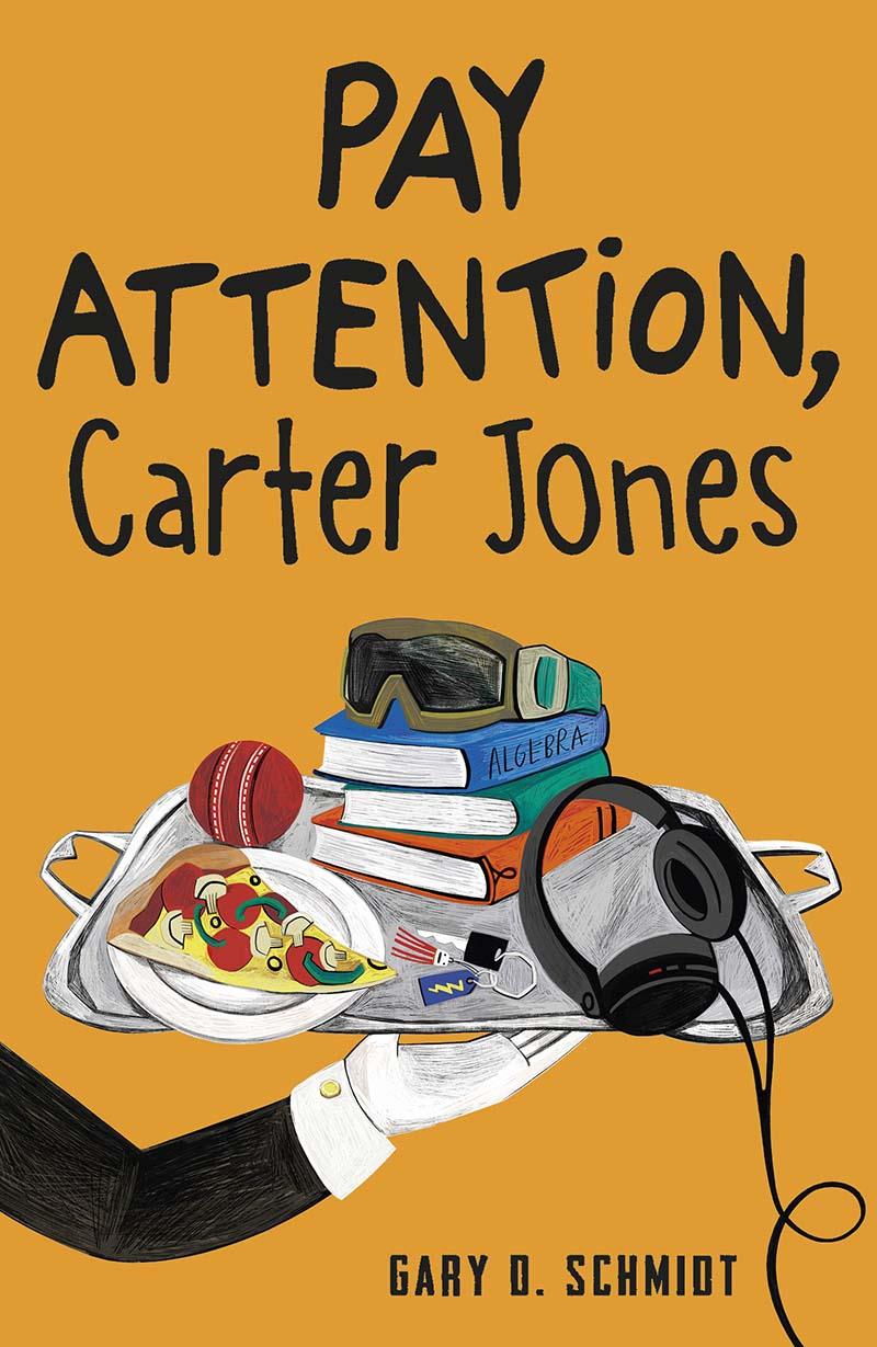 Pay Attention, Carter Jones - Jacket