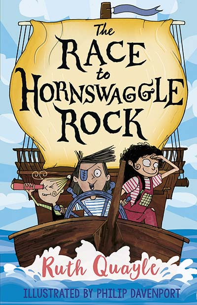 The Race to Hornswaggle Rock - Jacket