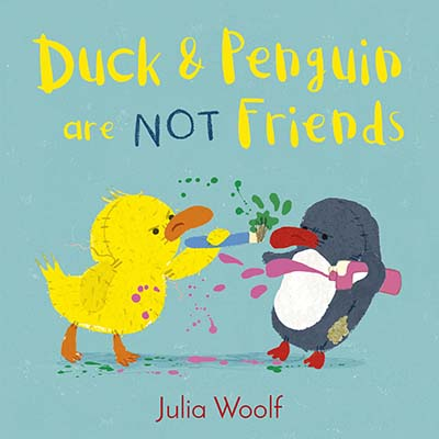 Duck and Penguin Are Not Friends - Jacket