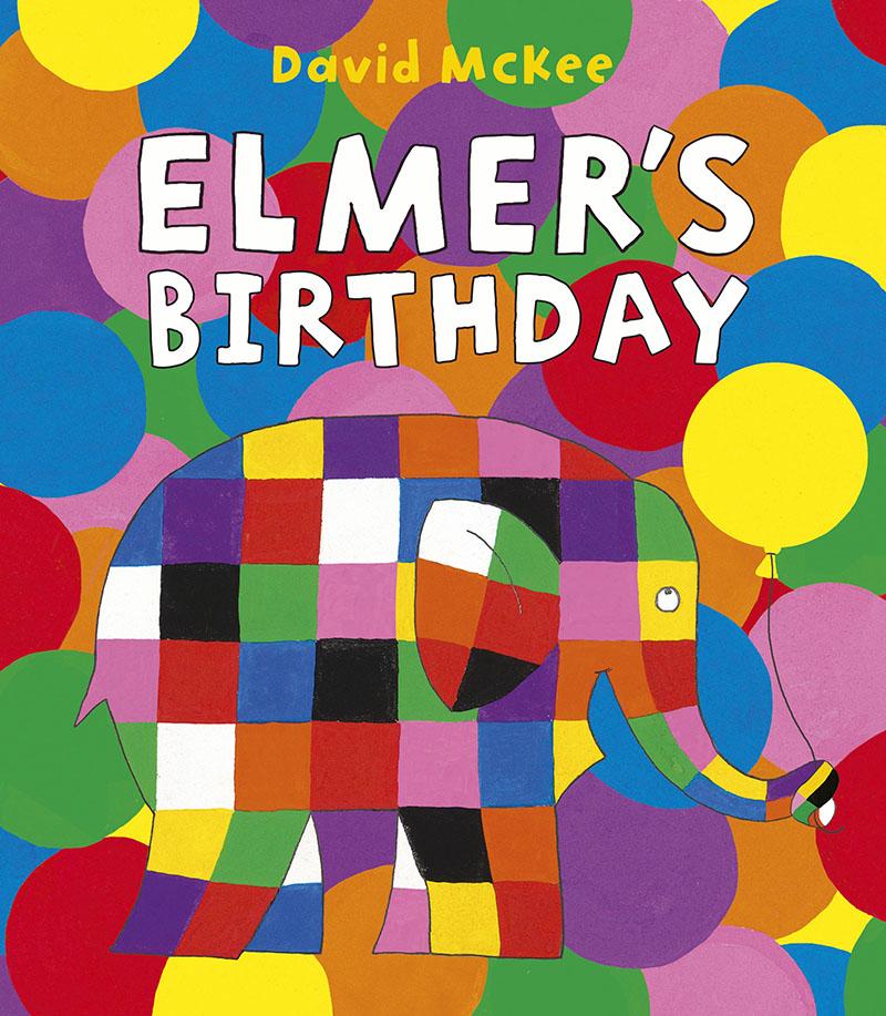 Elmer's Birthday - Jacket