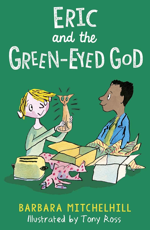 Eric and the Green-Eyed God - Jacket