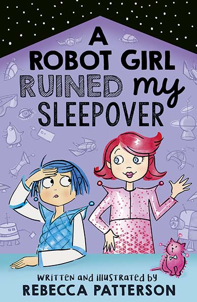 A Robot Girl Ruined My Sleepover - Jacket