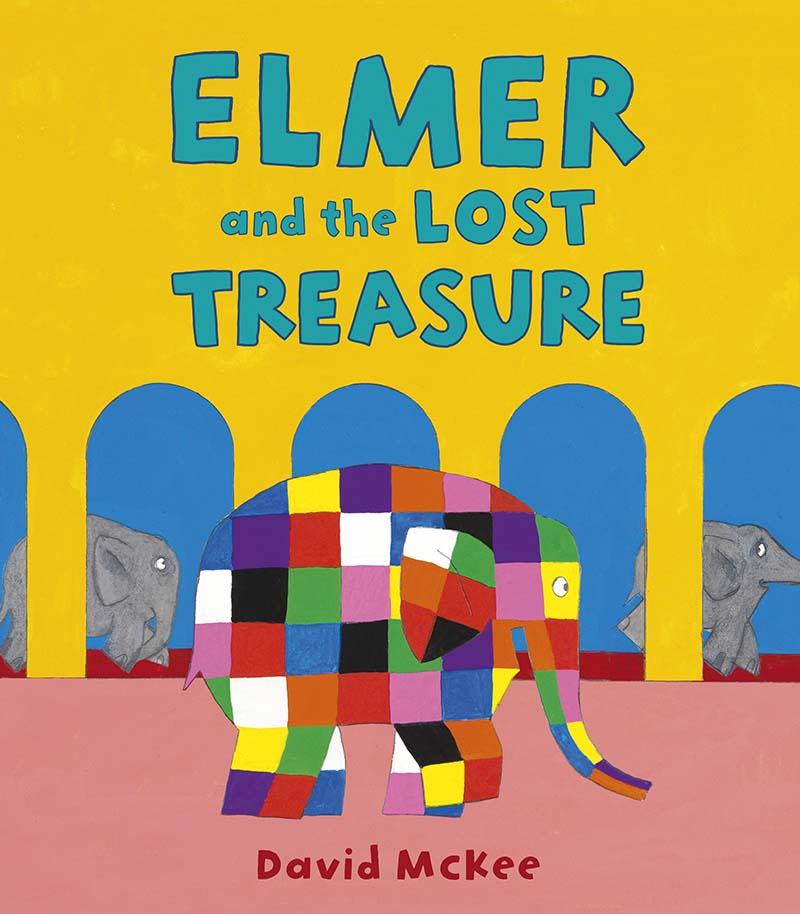 Elmer and the Lost Treasure - Jacket