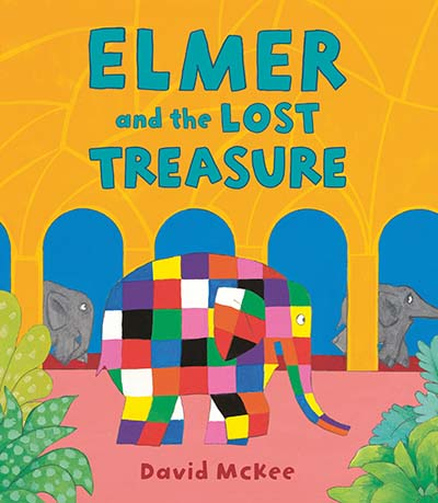 Elmer and the Lost Treasure - Jacket