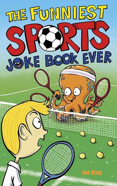 The Funniest Sports Joke Book Ever - Jacket