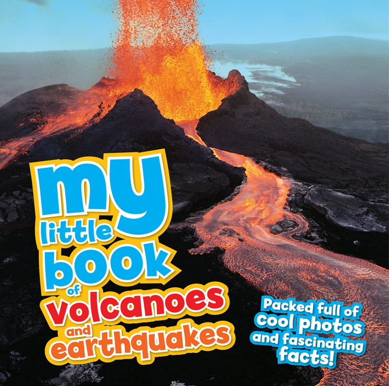 My Little Book of Volcanoes and Earthquakes - Jacket