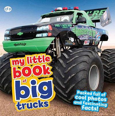 My Little Book of Big Trucks - Jacket