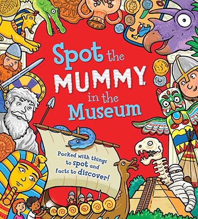 Spot the Mummy in the Museum - Jacket