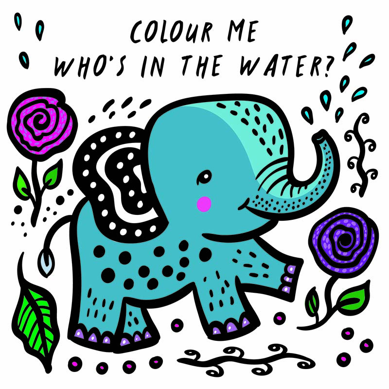 Colour Me: Who's in the Water? - Jacket