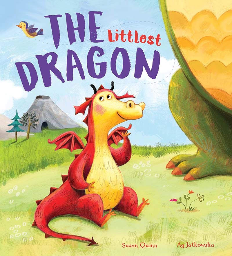 Storytime: The Littlest Dragon - Jacket