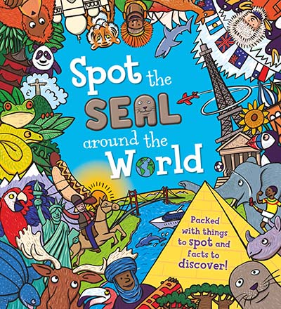Spot the Seal Around the World - Jacket