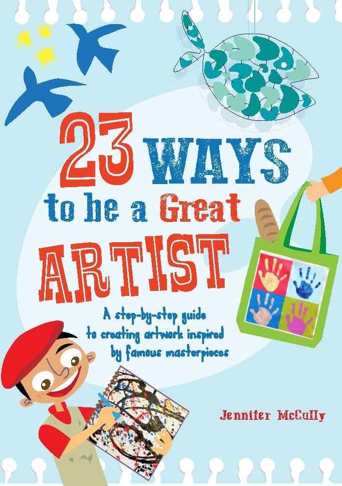 23 Ways to be a Great Artist - Jacket