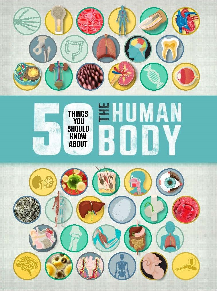 50 Things You Should Know About The Human Body - Jacket