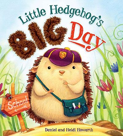 Little Hedgehog's Big Day - Jacket