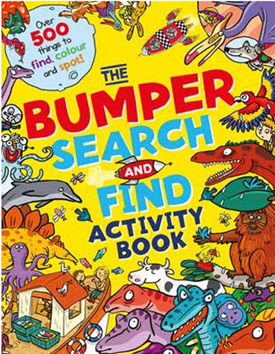 The Bumper Search & Find Activity Book - Jacket