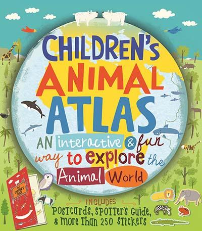 Children's Animal Atlas - Jacket