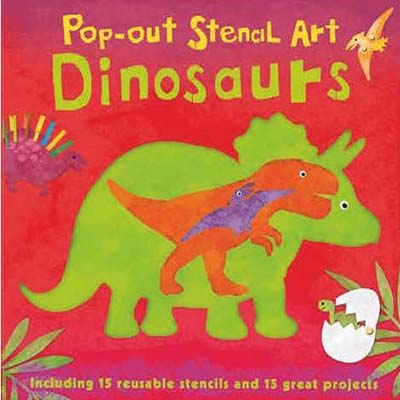 Pop-out Stencil Art: Dinosaurs - Jacket