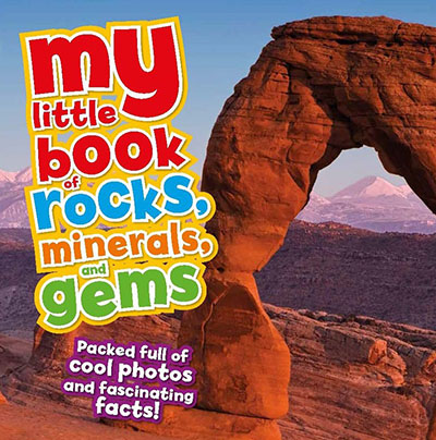 My Little Book Of Rocks, Minerals and Gems - Jacket