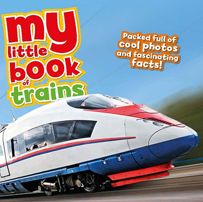 My Little Book Of Trains - Jacket