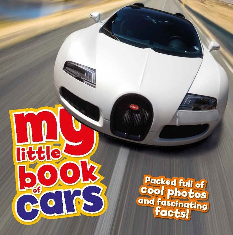 My Little Book Of Cars - Jacket