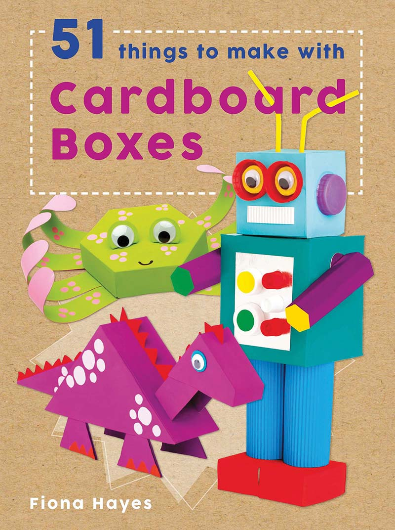 51 Things to Make with Cardboard Boxes - Jacket